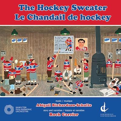 La pochette de l'album Le chandail de hockey