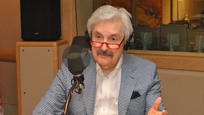 Marc Laurendeau à la revue de presse de l'émission <i>C'est bien meilleur le matin</i>
