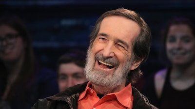 Le cinéaste André Melançon sur le plateau de Pénélope McQuade