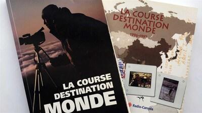 Deux livres de La course destination monde 94-95 et 96-97