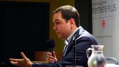 Le journaliste économique Gérald Fillion