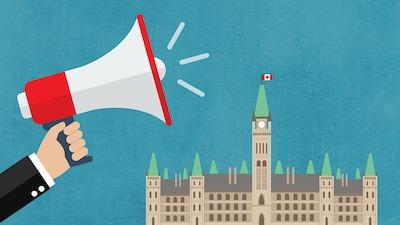 Dans les coulisses du Parlement canadien