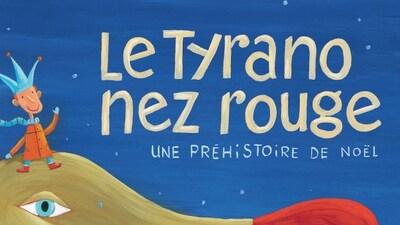 Couverture du livre Le Tyrano nez rouge