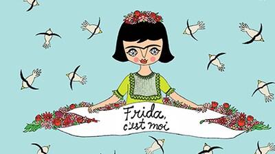 Page couverture du livre Frida c'est moi