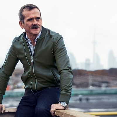 Le Colonel Chris Hadfield présente la soirée «Generator» au Roy Thompson Hall à Toronto