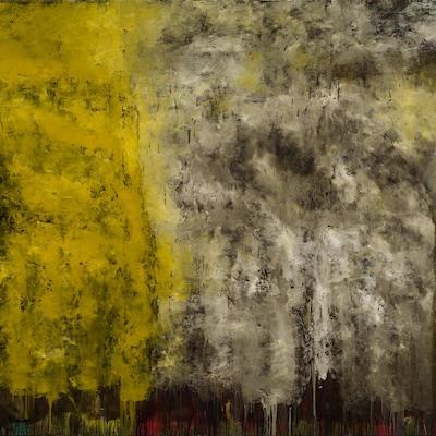 Les continents fleuris no. 2 , de Jean McEwen