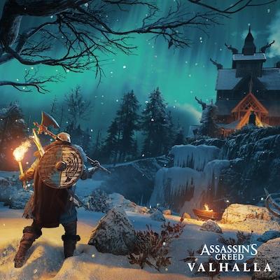 Une séquence du jeu  Assassin's Creed Valhalla , produit par Ubisoft.