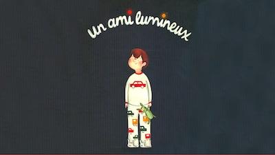 La couverture du livre Un ami lumineux de Simon Boulerice, illustré par Marilyn Faucher