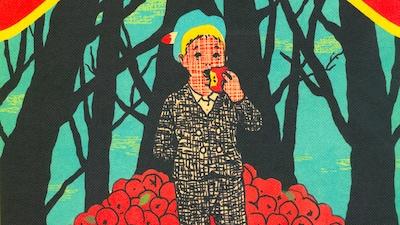Couverture du livre Un verger dans le ventre de Simon Boulerice et Gérard Dubois