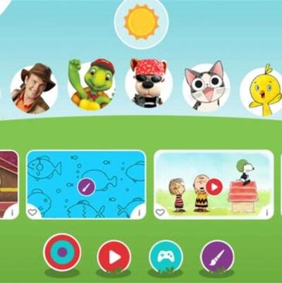 Jeux et dessins animés