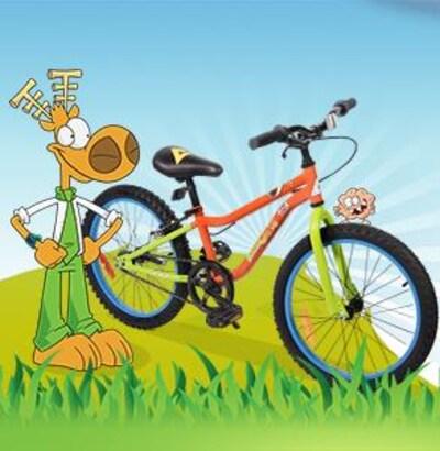 Participe à notre fabuleux concours et cours la chance de pédaler tout l'été sur ce magnifique vélo offert par l'émission l'Agent Jean.