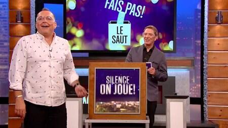 Jean-Michel Anctil joue à Fais pas le saut.