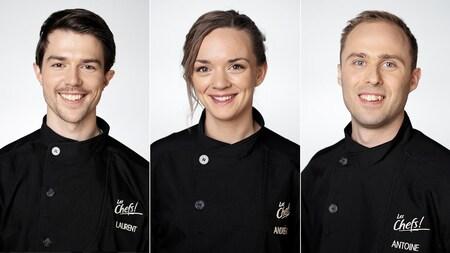Laurent, Andrée-Ann et Antoine.