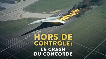 image du crash du Concorde