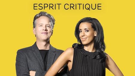 Marc Cassivi et Rebecca Makonnen, animateurs de l'émission Esprit critique