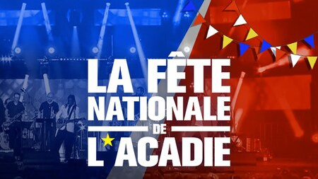 La fête nationale de l'Acadie