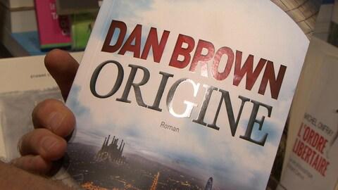 Le plus récent roman de Dan Brown, « Origine ».