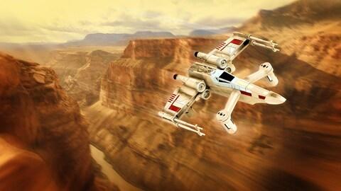Le drone Star Wars de la compagnie Propel est offert en trois modèles.