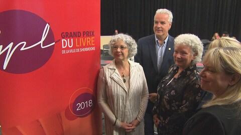 L'édition 2018 du Grand Prix du livre de la Ville de Sherbrooke est lancée.