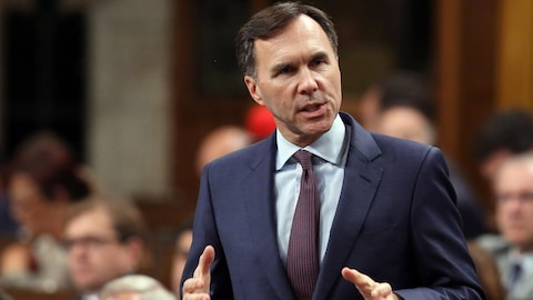 le ministre fédéral des Finances Bill Morneau