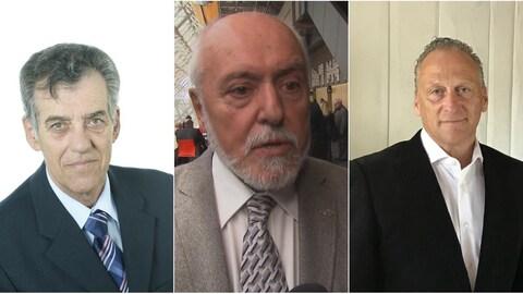 Les portraits des candidats à la mairie de Saint-Félicien.