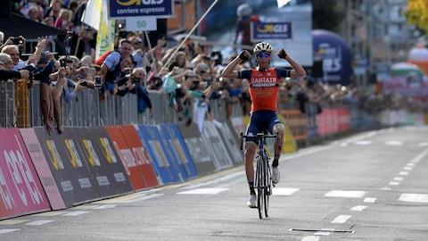 L'Italien Vincenzo Nibali vainqueur du Tour de Lombardie 2017