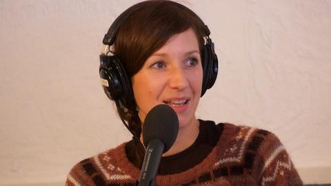 Marie Cochard en entrevue à On n'est pas sorti de l'auberge