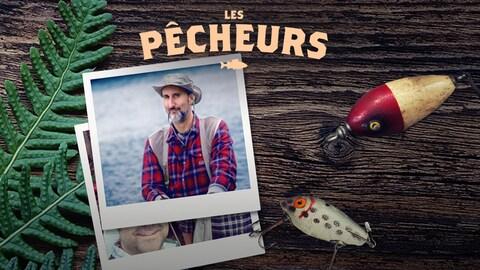 Photo polaroïde de Martin Petit, tête d'affiche dans Les pêcheurs et des hameçons.