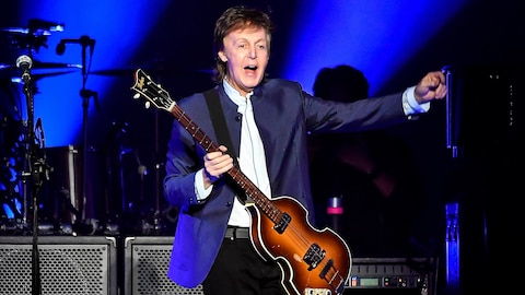Paul McCartney en spectacle.