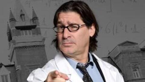 L'animateur de la nouvelle série L'Institut, Jean-René Dufort