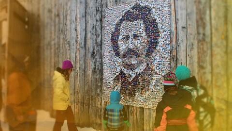 Mosaic de Louis Riel
