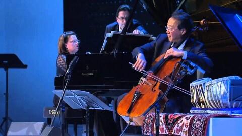Le violoncelliste Yo-Yo Ma