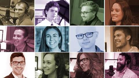 Quelques participants de la série 30 en bas de 30