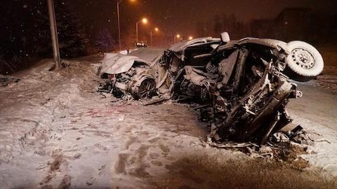 Trois femmes sont mortes dans une violente collision à Beaupré.