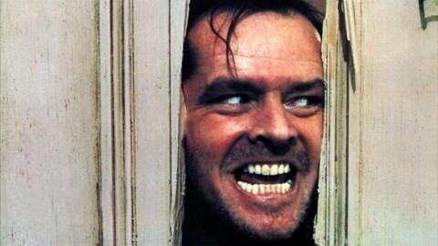Jack Nicholson dans le rôle de Jack Torrance dans le film « The shining » de Stanley Kubrick