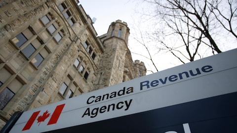 Bureaux de l'Agence du revenu du Canada, à Ottawa