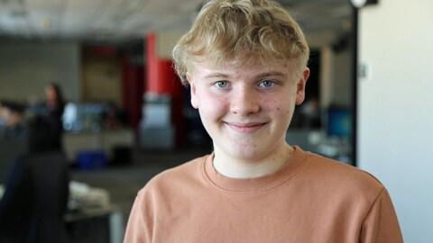 Portrait d'un adolescent