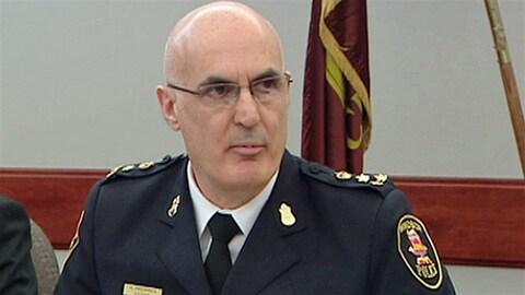 Al Frederick, chef de la police de Windsor