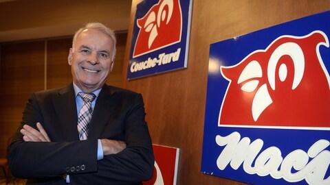 Le fondateur et président exécutif de Couche-Tard, Alain Bouchard