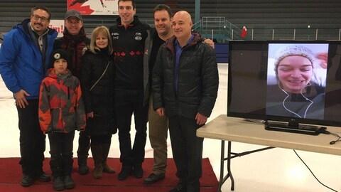 Sherbrooke souligne la participation aux Jeux olympiques de Kim Boutin et d'Alex Boisvert-Lacroix.