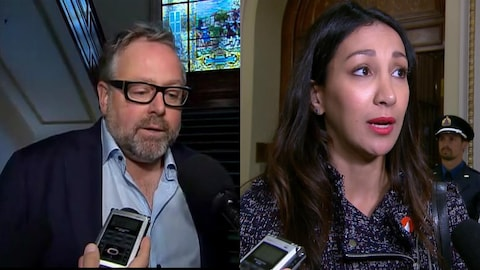 Alexandre Taillefer et Marwah Rizqy