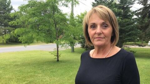La mairesse de St-Quentin, Nicole Somers.