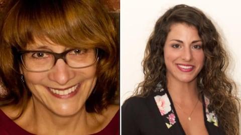 Caroline Moreno et Gabrielle Lebeau, deux ex-candidates municipales dans l'arrondissement du Plateau-Mont-Royal, à Montréal