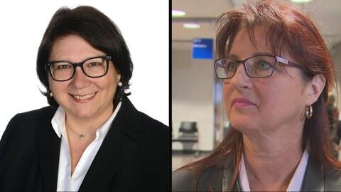 Portrait des deux femmes