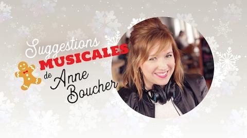 Suggestions musicales de Anne Boucher