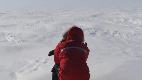 Les Inuit constatent de grands changements dans le climat du nord du Labrador. La neige arrive plus tard et fond plus tôt par exemple.