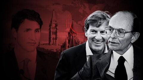 Visages de grands argentiers du Parti libéral du Canada