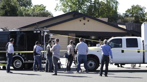 James DeAngelo a été arrêté en banlieue de Sacramento.