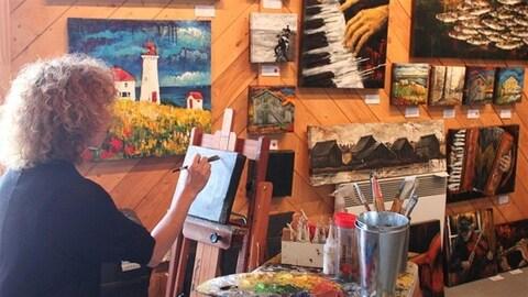Artiste des Îles-de-la Madeleine