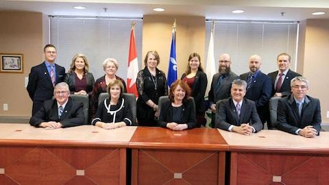 Cérémonie d'assermentation des conseillers et de la mairesse de Rouyn-Noranda